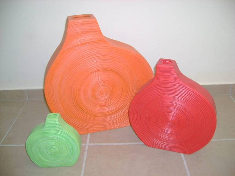 Snail Vases